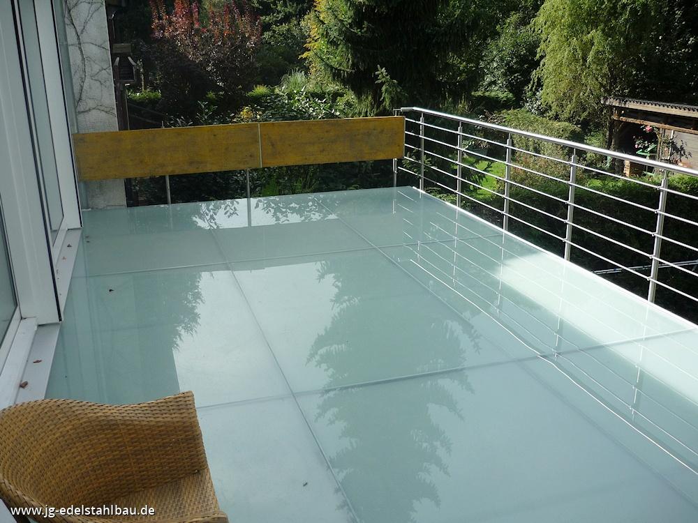 terrassengel nder aus edelstahl jg edelstahlbau karlsruhe. Black Bedroom Furniture Sets. Home Design Ideas