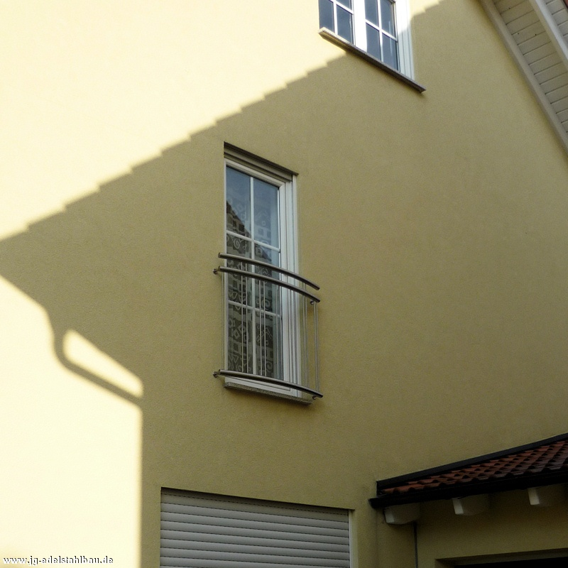 franz sische balkongel nder aus edelstahl jg edelstahlbau karlsruhe. Black Bedroom Furniture Sets. Home Design Ideas